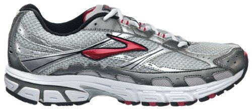 Brooks Men's Switch 4 Running Shoe,Tango Red/Metallic Pavement/Silver/Black/White,10.5 D US