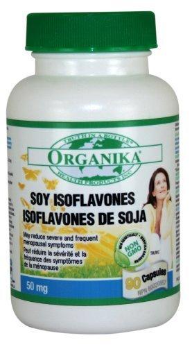 Organika Soy Isoflavone 50 mg, 90 capsules by Organika