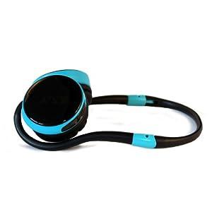 XX.Y R-005_BLUE Runner Sport Kopfhörer mit integrierter MP3 Player und Radiofunktion blau