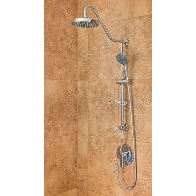Great Features Of PULSE Showerspas 1011-BN Kauai Retro-Fit Rain Shower System with Handshower and Ad...