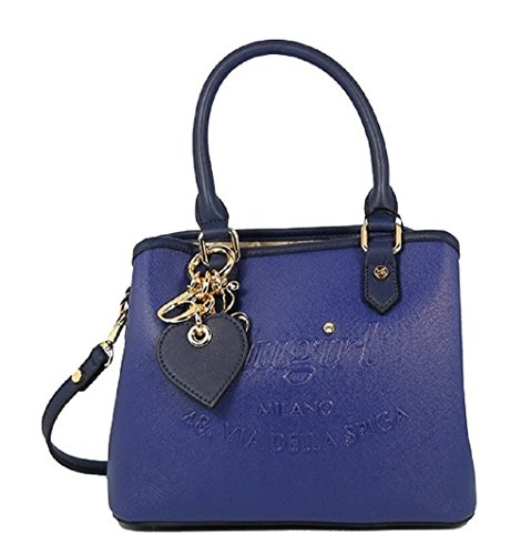 BORSA BLUGIRL SMALL DOUBLE HANDLE BLU 006