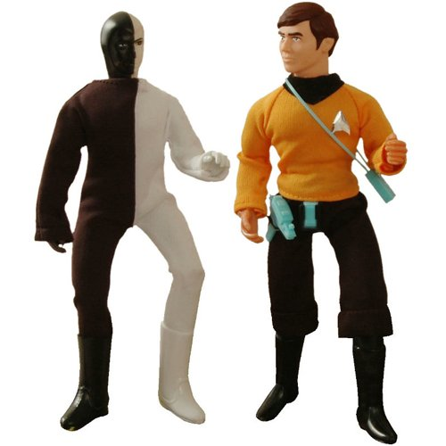 Buy Low Price Diamond Select Star Trek Retro Cloth Chekov and Cheron Series 6 Action Figures by Diamond Select (B001OK0K4G)