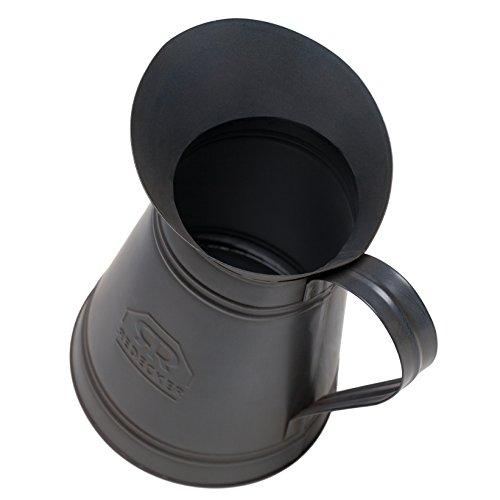 Bürstenhaus Redecker Metal Toilet Brush Holder with Toilet Brush, 8-3/4 Inches