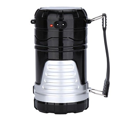 Solar-Charging-Portable-Outdoor-Camping-Lantern-KuGi--Collapsible-Emergency-Flashlight-with-Water-Resistant-Camping-Tent-Stretch-switch-Telescopic-Emergency-Lights