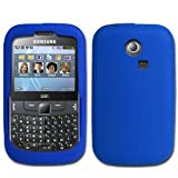 Gadget Giant Blue Silicone Samsung S3350 s3353 335 CH@T Chat Case Cover Skin Shell