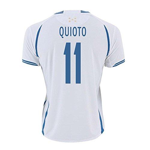 Quioto #11 Honduras Home Soccer Jersey Gold Cup 2015