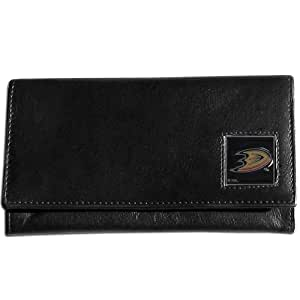 NHL Anaheim Ducks Genuine Leather Women's Wallet