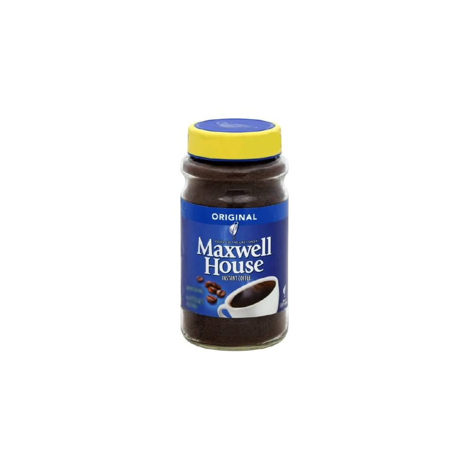 Maxwell House Instant Coffee Original 12 Oz Pack Of 4 On
