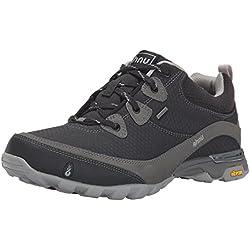 Ahnu Women's Sugarpine WP Hiking Shoe, New Black