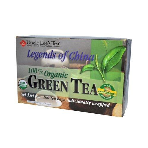 Wholesale Uncle Lees Legends Of China Organic Green Tea - 100 Tea Bags, [Food, Tea]