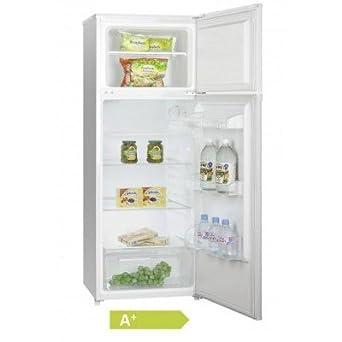 Réfrigérateur Blanc 2 portes- HFR144A+