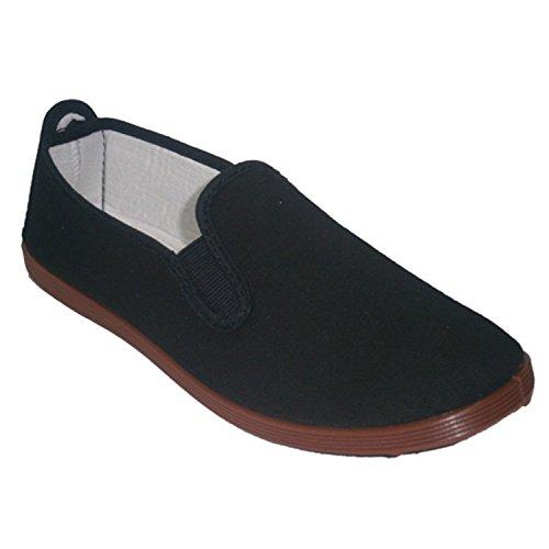 Pantofole per tai chi, yoga e Kunfu Irabia nero taille 46