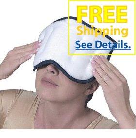 "Therabead - True Moist Heat Microwaveable - Sinus Pain Relief Pad (6""X9"")"