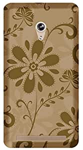 TrilMilPrinted Designer Mobile Case Back Cover For Asus Zenfone 6