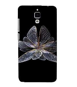 PrintVisa Butterfly Design 3D Hard Polycarbonate Designer Back Case Cover for Xiaomi Redmi Mi4