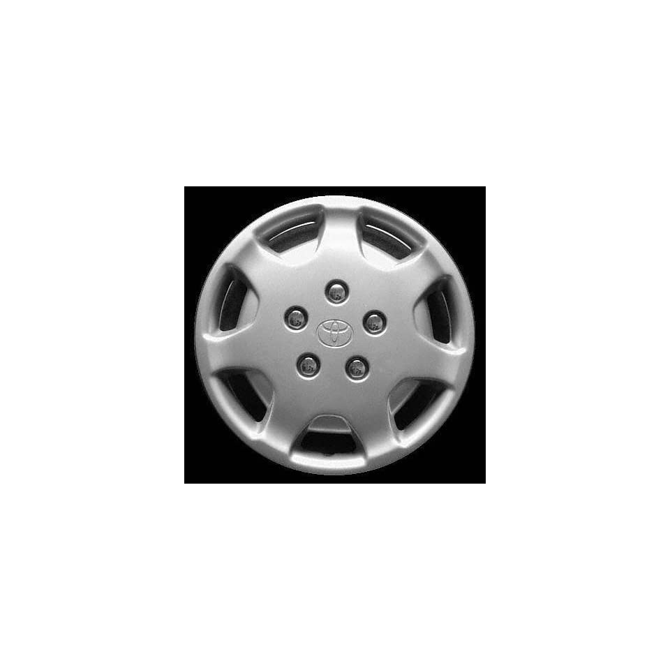 92 94 TOYOTA CAMRY WHEEL COVER HUBCAP HUB CAP 14 INCH, 7 HOLE BRIGHT SILVER 14 inch Check out our aftermarket replaceme (center not included) (1992 92 1993 93 1994 94) T261205 FWC61058U20