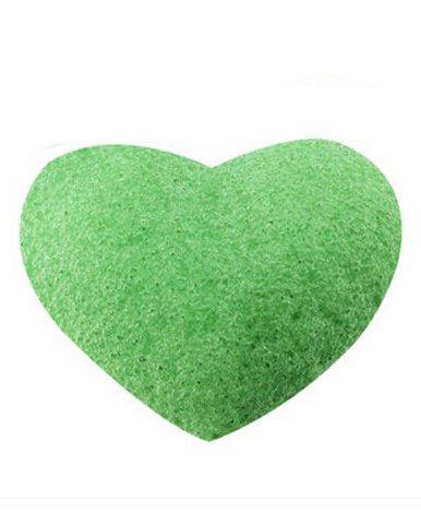 dayan-konjac-naturale-konnyaku-faccia-puff-face-wash-pulizia-spugna-verde
