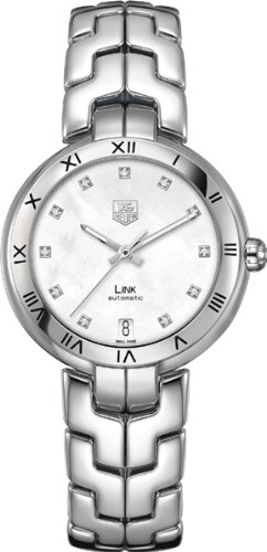 TAG Heuer Link MOP Dial Stainless Steel Women's Watch WAT2315.BA0956