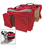 Saddle Bag Backpack for Dog Pet Camping Hiking
