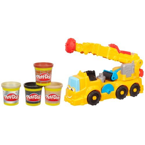 Set Includes Tools, Molds And Stamper Accessorizes - Diggin Rigs Power Crane