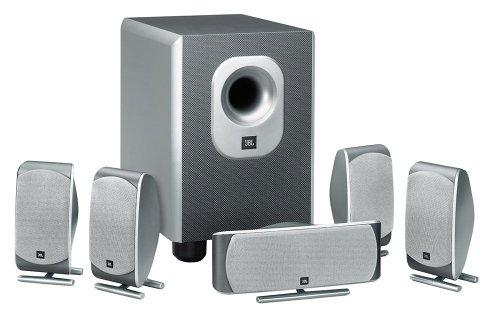 JBL SCS 200.5 5.1 Lautsprecher-System silber/grau