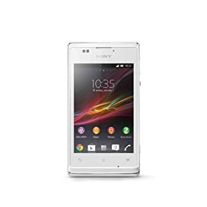 Sony Xperia E SIM-free Android Smartphone - White