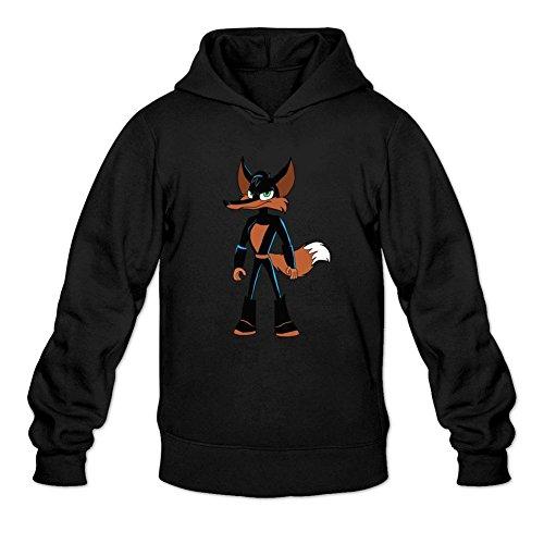 Kettyny Men's Loonatics Unleashed Sweatshirts Hoodie (Lexi Bunny)