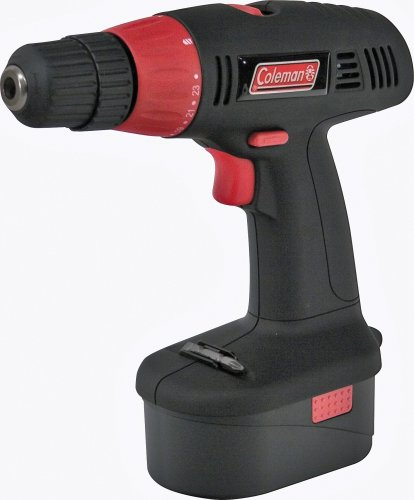 41WYJEdh8NL Coleman PMD8133 Powermate 18V Drill & 2 Batteries