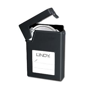 """Lindy 40687 Coque de protection pour Disque 2,5"""" Noir"""