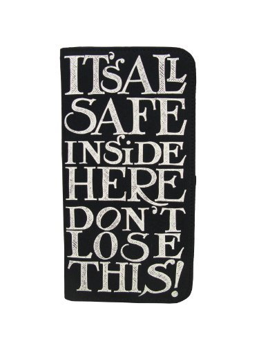Emma Bridgewater Black Toast Hatchtravel Document Holder front-337562