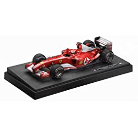 diecast car of 2003 Ferrari F-1 Formula One #1 Michael Schumacher 999 GP Points diecast model car 1:18 scale die cast
