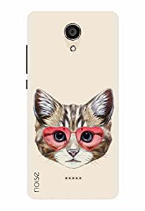 Noise Designer Printed Case / Cover for Micromax Canvas Unite 4 Q427 / Comics & Cartoons / Retro Kitty