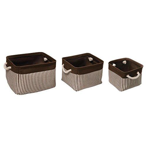 Badger Basket Nesting Square Basket Set, 3 Count - 1