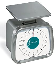 Taylor Food Service 16-Ounce Compact Analog Portion Control Scale, 473 ml