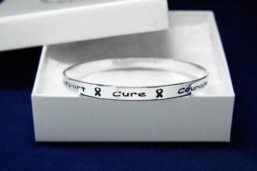 Silver Ribbon Bracelet - Bangle (18 Bracelets)
