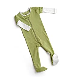 Hello World SmartZip Sleeper:Olive You More 24 Months Green
