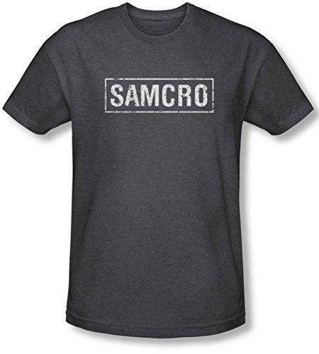 Sons Of Anarchy, Samcro-Maglietta da uomo grigio Small