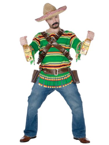 Tequila Popn Dude Mexican Costume South of The Border Funny Halloween Costume