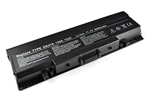 ATC 9-cell 6600mAh Li-ion Hi-quality battery for DELL Inspiron 1520, Inspiron 1521, Inspiron 1720, Inspiron 1721, Vostro 1500, Vostro 1700 Laptop,Compatible Part Numbers:UW280, 0UW280, NR239, 312-0589, 451-10477, FK890, GK479 ,312-0504, 312-0575, 312-0576, 312-0590, 312-0594, FP282