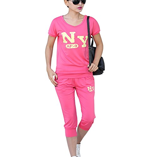 TLZC Women's Casual Two Pieces Set