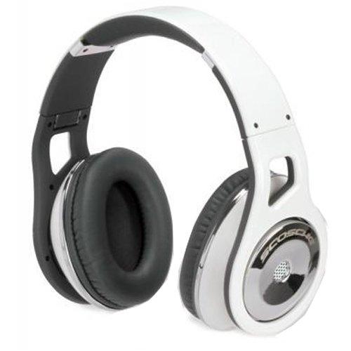 Scosche Rh1056M Over-The-Ear Headphones (White)
