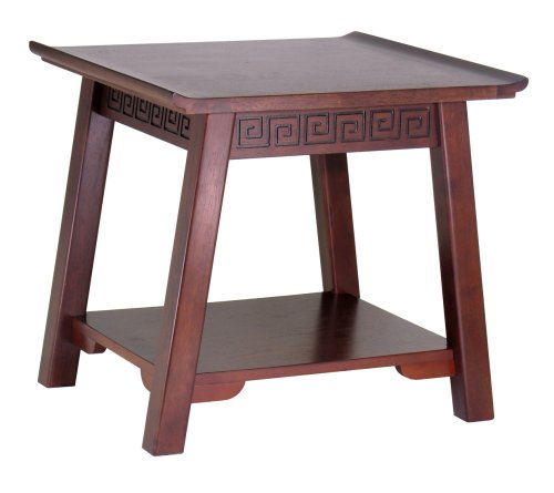 Winsome Wood Chinois End Table