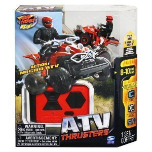 Propulsores de ATV Air Hogs mando a distancia del vehículo de color rojo