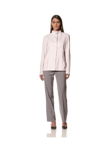 JIL SANDER Women's Wool/Linen Stretch Jacket