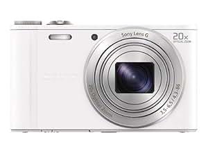 Amazon.com : Sony Cybershot DSCWX300 BLANCA 18MP 20X WiFi : Camera
