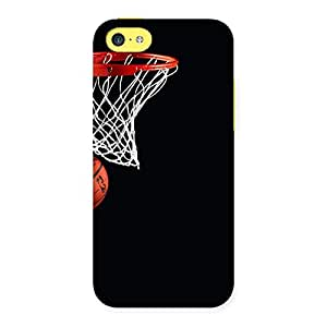 Gorgeous Basket Ball Multicolor Back Case Cover for iPhone 5C