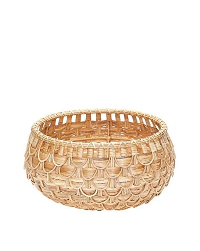 Small Fish Scale Basket, Natural