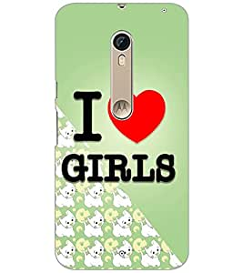 PrintDhaba Quote D-4346 Back Case Cover for MOTOROLA MOTO X PURE EDITION (Multi-Coloured)