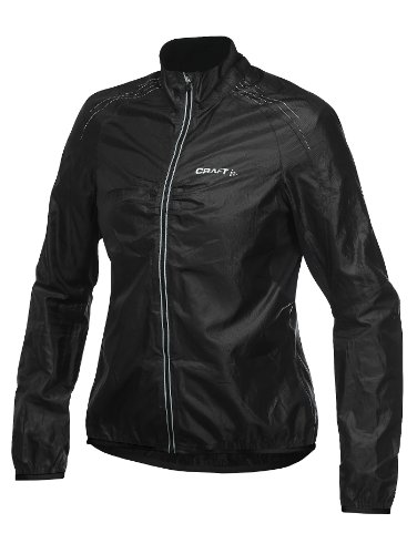 Craft Pb Women's Cycling Jacket - Black, Large