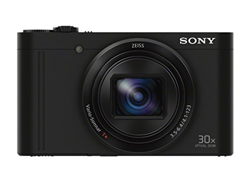 Sony DSCWX500/B Digital Camera with 3-Inch LCD (Black)